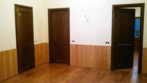Работа окончена. Установлены 3 двери в Раменском